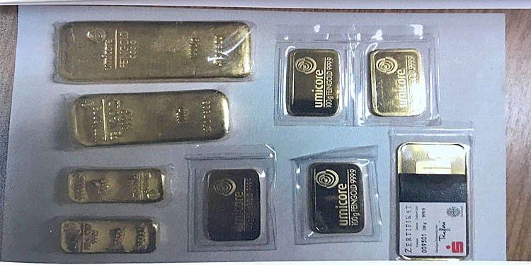 Sahte polislerden 3 kilo altın çıktı