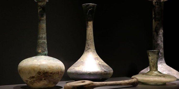 Aşkın tarihi 'gözyaşı şişeleri'nde saklı